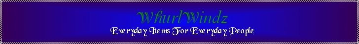 WhurlWindz Books and More