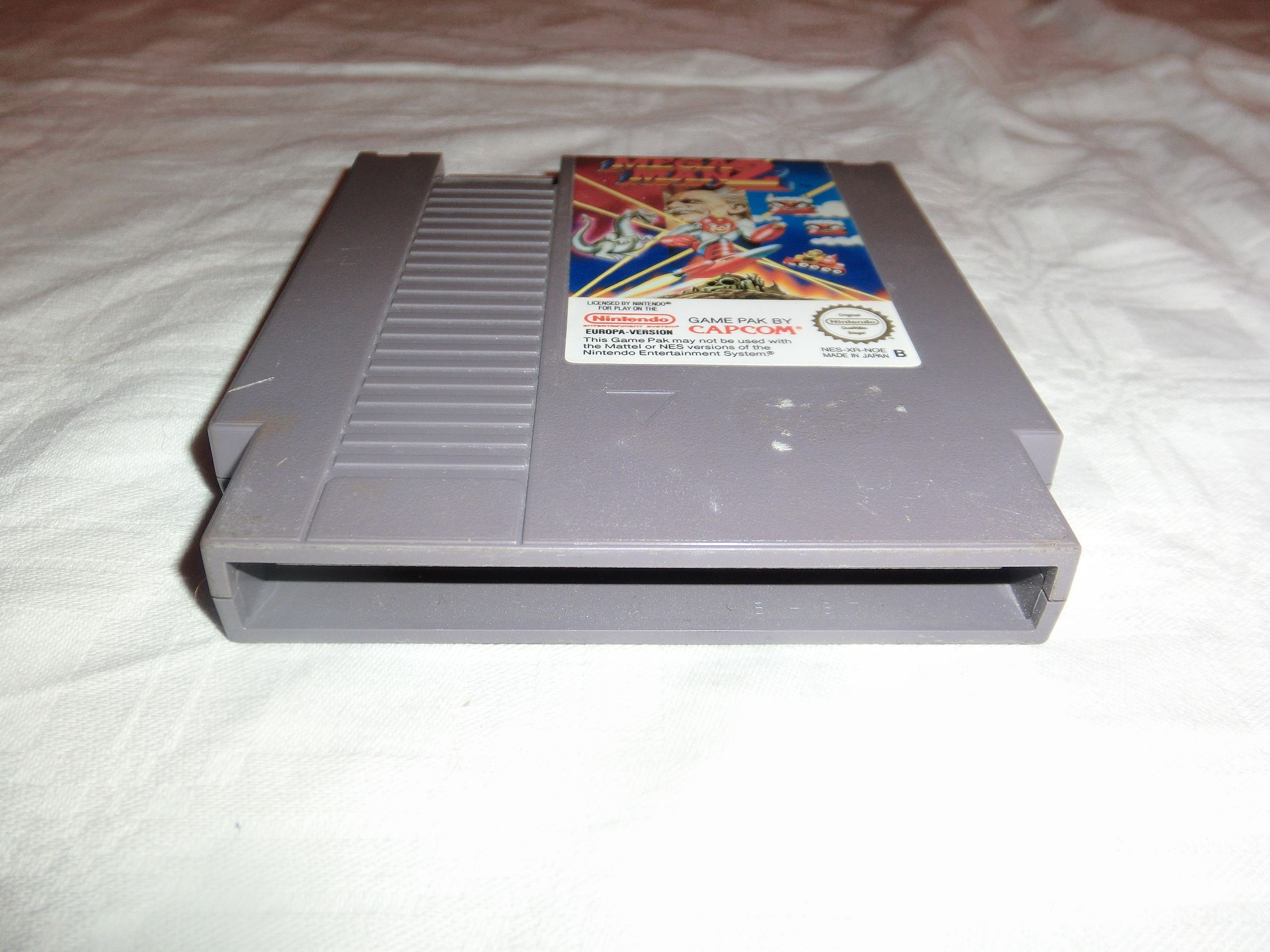 Mega man 2 nes pal version nes xr noe sehr gepflegter for A href decoration none